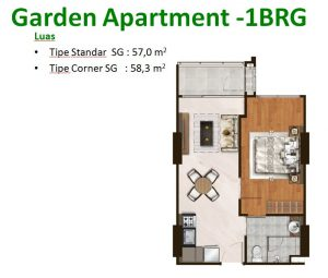 Garden Apartment 1 BRG