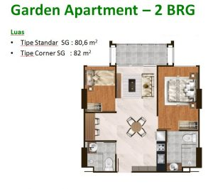 Garden Apartment 2 BRG